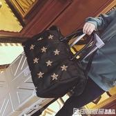 短途旅行包女手提行李包韓版大容量牛津布旅行袋輕便防水健身包潮  印象家品