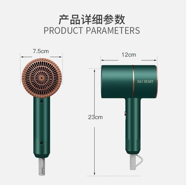 錘子吹風機 110V台灣專用 網紅電吹風電吹風家用靜音冷熱風筒藍光護髮負離子吹風機護髮水潤