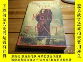 二手書博民逛書店THE罕見RED TENT 紅色的帳篷Y20470 ANITA