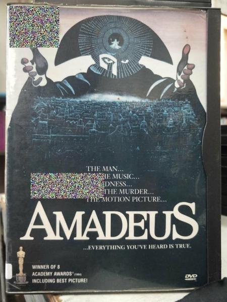 挖寶二手片-Z83-003-正版DVD-電影【阿瑪迪斯 雙碟】-榮獲奧斯卡最佳影片 男主角 導演(直購價)經典