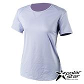 PolarStar 女 吸排休閒圓領T恤『淺紫』P21118 排汗衣 排汗衫 吸濕快乾 .吸濕.排汗.透氣.快乾.輕量