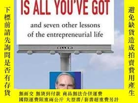二手書博民逛書店Integrity罕見Is All You ve Got: An