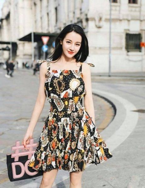 ■2018夏折扣專櫃65折 ■ Dolce & Gabbana 全新真品 BB6547 小款 Insta 兩用包 黑色 迪麗熱巴同款