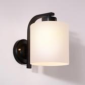 北歐墻燈黑色壁墻燈具現代創意臥室床頭燈
