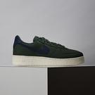 Nike Air Force 1 07 Craft 男女 綠藍 基本款 皮革 簡約 休閒鞋 CV1755-300