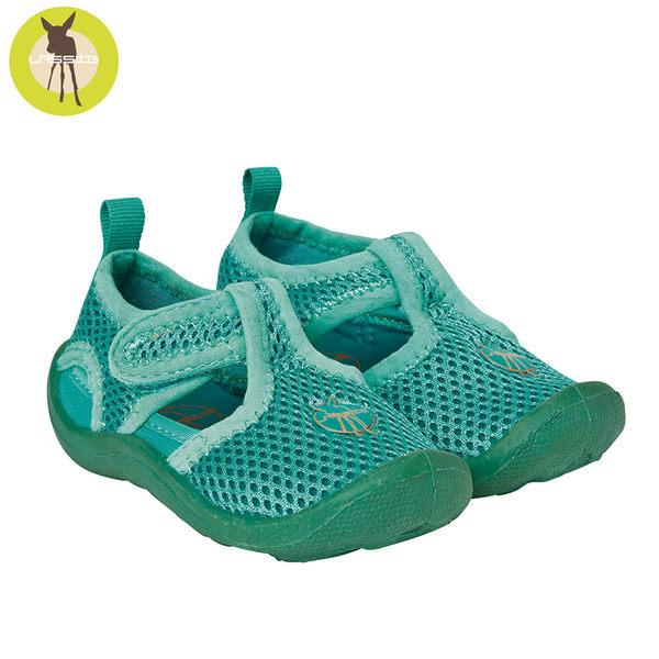 德國Lassig-嬰幼兒透氣快乾輕量沙灘涼鞋-小草綠