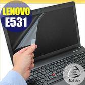 【EZstick】Lenovo ThinkPad E531 專用 靜電式筆電LCD液晶螢幕貼 (可選鏡面或霧面)