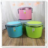 上班族 學生 保溫圓形雙層飯盒 不銹鋼密封防漏帶飯粥湯提鍋CY 韓風物語