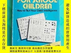 二手書博民逛書店IQ罕見tests for school children(V025)Y173412