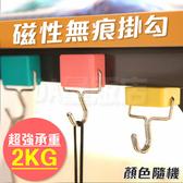 糖果色 磁鐵掛勾 無痕掛鈎 磁性掛鉤 冰箱掛鈎 磁掛勾 磁掛鉤 磁掛鈎 強力磁鐵(V50-2144)