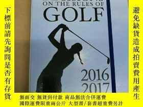 二手書博民逛書店Decisions罕見on the Rules of Golf