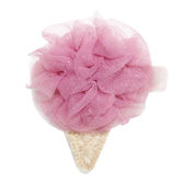 雪紡髮夾冰淇淋玫瑰紅Rose C 911