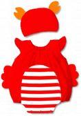 貝比幸福小舖【01699-A】歐美百搭可愛卡通造型無袖包屁衣+帽子大集合-27小螃蟹