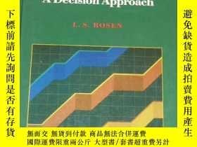 二手書博民逛書店Accounting罕見: A Decision Approach(英文原版,會計學:一種決策分析法) LJY