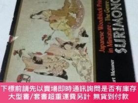 二手書博民逛書店英文)摺物Japanese罕見woodblock prints in miniature : the genre