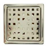 歐式方格防臭地板落水頭 適用1.5吋排水孔