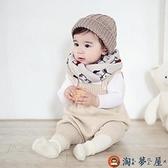 寶寶背帶褲兒童秋裝褲子嬰兒針織毛線毛衣冬季【淘夢屋】