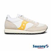 SAUCONY JAZZ ORIGINAL VINTAGE 經典復古女鞋-白x卡其x銘黃