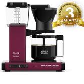 金時代書香咖啡Moccamaster 美式咖啡機濾泡式咖啡機野莓紅 加入Line ID k