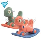 JN.Toy 3合一恐龍搖搖馬.嚕嚕車.平衡板(2款可選)