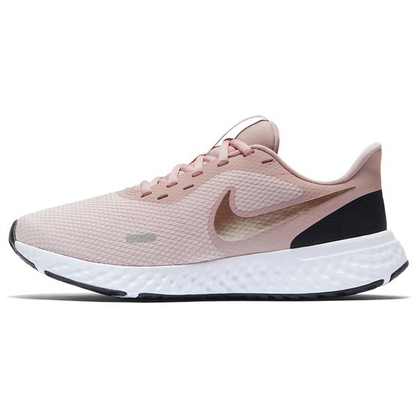 【現貨】NIKE Revolution 5 女鞋 慢跑 訓練 輕量 網布 透氣 粉【運動世界】BQ3207-600