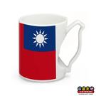 【收藏天地】台灣島型握把馬克杯*國旗 ∕ 生活 辦公室 喝咖啡 創意禮品