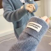 熱銷毛衣很仙的秋冬毛衣女外套衫2020春裝新款韓版寬鬆中長款針織女開衫厚