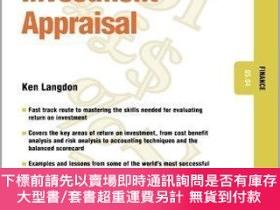 二手書博民逛書店預訂Investment罕見Appraisal - Finance 05.04Y492923 Ken Lang