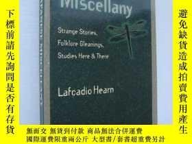 二手書博民逛書店A罕見Japanese Miscellany:strange s