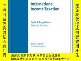 二手書博民逛書店International罕見Income Taxation: