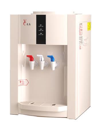 壓縮機式桌上型冰溫熱飲水機+麥飯石涵氧水12.25公升20桶