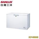 【南紡購物中心】【SANLUX台灣三洋】 388L 變頻上掀式冷凍櫃SCF-V388GE