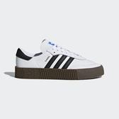 Adidas Sambarose W [AQ1134] 女鞋 運動 休閒 經典 增高 厚底 舒適 抗菌 愛迪達 白黑
