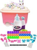 玩具 兒童手工diy魔法吹泡波波粘粘樂黏黏樂氣球沾沾充氣抖音女孩玩具  城市科技DF