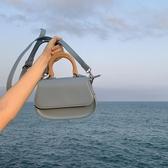 手提包韓版木質手提小容量小豬包2020圓形單肩手機斜跨包女快速出貨