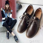 日系學院鞋新款春季小女蘿莉日系百搭洛麗塔學院風平底復古休閒單鞋 電購3C