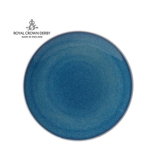 英國Royal Crown Derby-Art Glaze藝術彩釉系列-27CM餐盤-滄藍