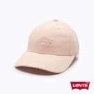 Levis 男女同款 可調式環釦棒球帽 / 精工刺繡Logo / 淺卡其