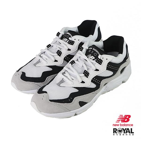 New balance 850 白色 皮質 休閒運動鞋 男女款NO.B1409【新竹皇家 ML850YSF】