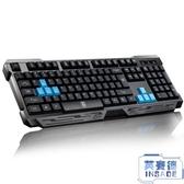 無線鍵盤機械手感usb筆記本臺式電腦家用辦公游戲【英賽德3C數碼館】