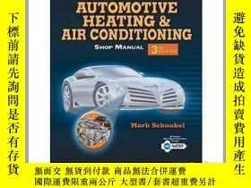 二手書博民逛書店Automotive罕見Heating & Air ConditioningY23583 Schnubel,