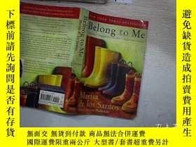 二手書博民逛書店Belong罕見to Me【你是我的人,瑪麗莎·德·洛斯·桑托斯