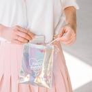 果凍包 鐳射果凍包 春夏個性百搭學生女斜背包側背包迷你背包小包包 愛麗絲