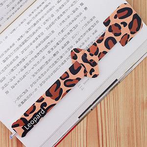 【歐士OSHI】指標書籤筆   豹紋 leopard
