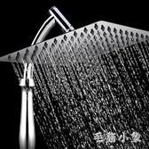手持增壓頂噴浴室熱水器淋雨噴頭不銹鋼大花曬蓮蓬頭淋浴花灑套裝 ys5265『毛菇小象』