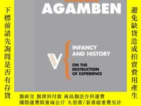 二手書博民逛書店Infancy罕見And HistoryY364682 Giorgio Agamben Verso 出版20