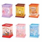 Sanrio SANRIO明星半透明PP方形筆筒(六種款式,隨機出貨*1)★funbox★_223883