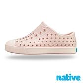 native 小童鞋 JEFFERSON 小奶油頭鞋-千禧粉