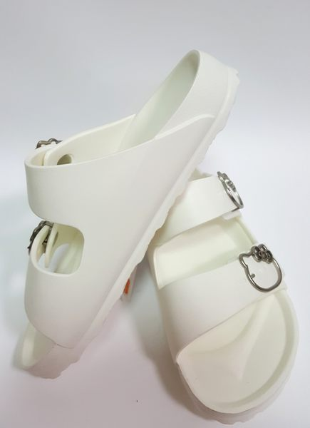 HELLO KITTY 超輕防水 拖鞋《7+1童鞋》C082白色