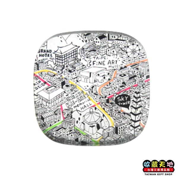 【收藏天地】銀鑽磁鐵*台北捷運地圖 ∕ 磁鐵 觀光 禮品 愛國 景點 手信